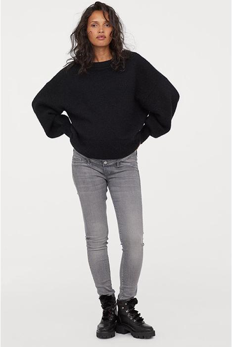 ג׳ינס הריון אפור H&M