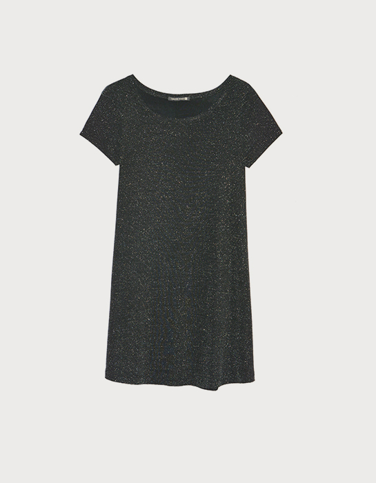 שמלה שחורה בהריון תמנון
