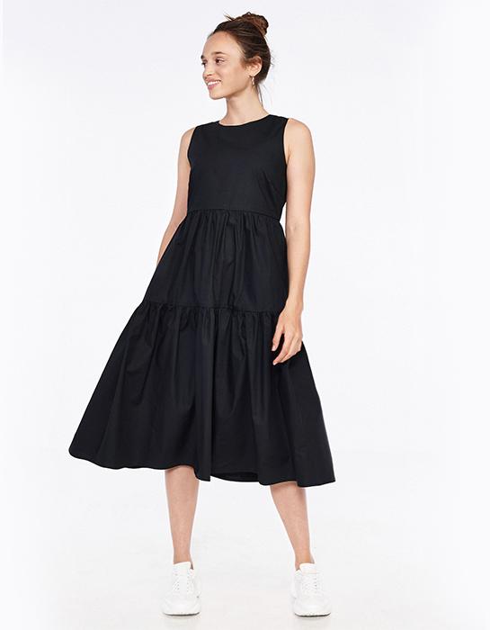 שמלה שחורה בהריון קסטרו