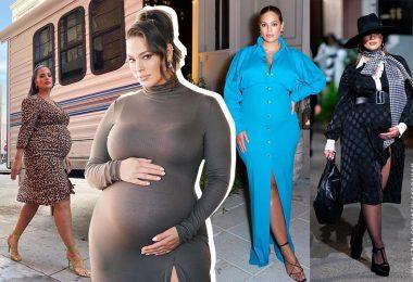 אשלי גראהם בהריון