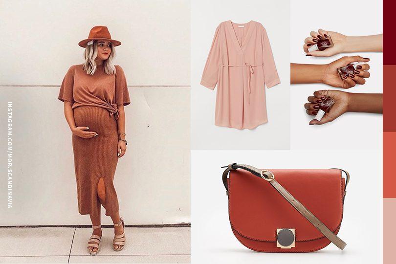 בגדים להריון בסתיו
